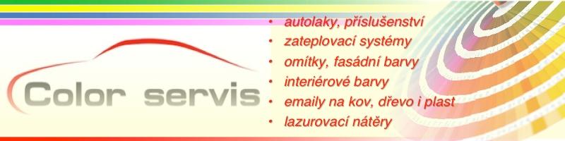 Color Servis – autolaky, fasádní barvy, omítky