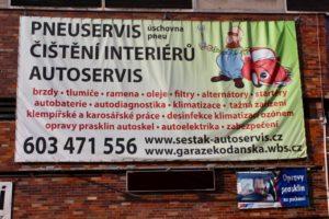 Pronájem garáží, autoservis, pneuservis – Praha 10