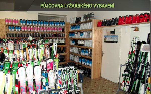 Půjčovna lyží Praha